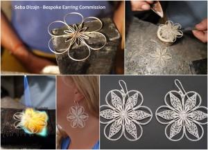 Seba, design, jewellery, jewelry, silver, gold, gemstones, korcula, croatia, earring, filigree, bracelets, pendants, cufflinks, pearls, custom